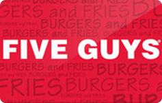 Five Guys - 60%