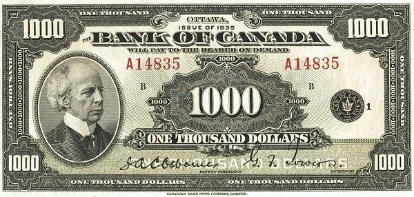 Bank Of Canada English Text