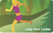 Lady Foot Locker - 50%