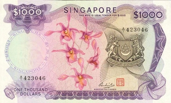 1967 1973 Flowers Foreign Currency