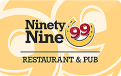 Ninety Nine Restaurant 50%