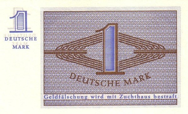 Germany 1 Mark (Bundeskassenschein)