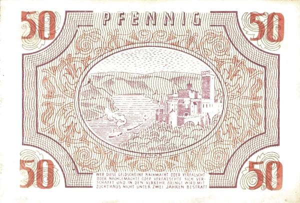 Germany 50 Pfennig (Rheinland-Pfalz 1947)