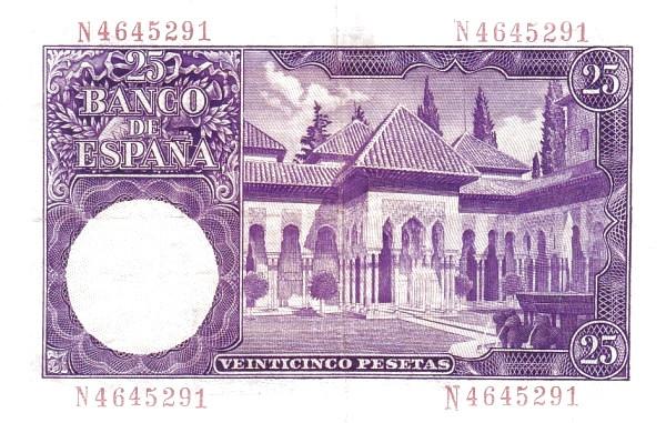 Spain 25 Pesetas (Isaac Albeniz)