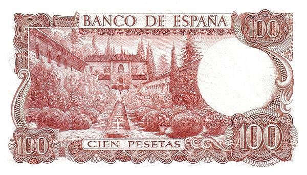 Spain 100 Pesetas (Manuel de Falla)