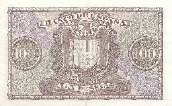 Spain 100 Pesetas (Christopher Columbus)