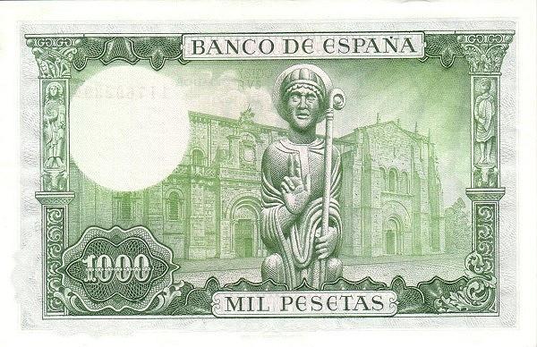 Spain 1000 Pesetas (San Isidoro)