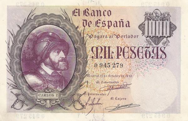 Spain 1000 Pesetas (King Carlos I)