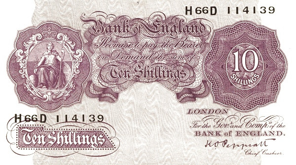 British 10 Shillings (1940-1948 Emergency)