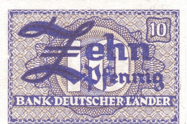 Germany 10 Pfennig (Bank Deutcher Länder )