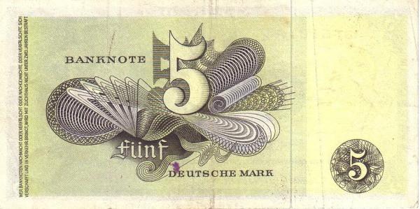 Germany 5 Mark (Bank Deutcher Länder )