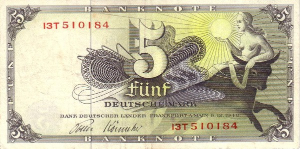 Germany 5 Mark (Bank Deutcher Länder )