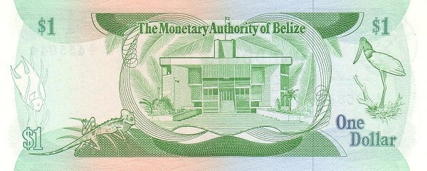 Belize 1 Dollar(Monetary Authority of Belize)
