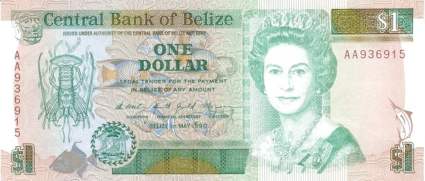 Belize 1 Dollar