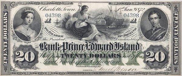 Canada 20 Dollars (Bank of Prince Edward Island)