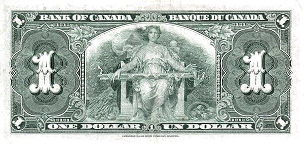 Canada 1 Dollar (1937 Bank of Canada)