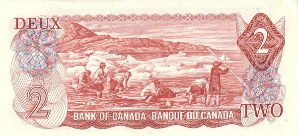 Canada 2 Dollars (1969-1975 Bank of Canada)