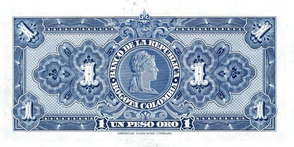 Colombia 1 Peso (1929-1954)