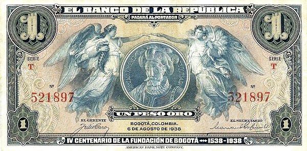 Colombia 1 Peso (1932)