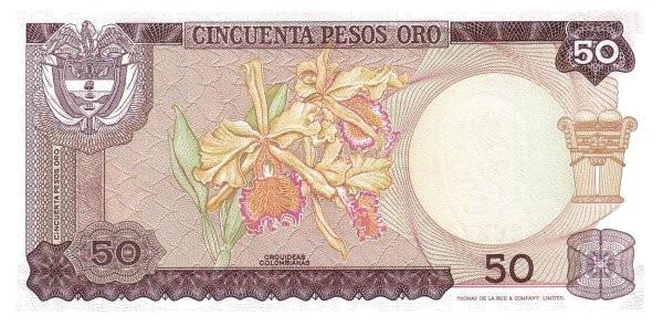 Colombia 50 Pesos (1969-1970)