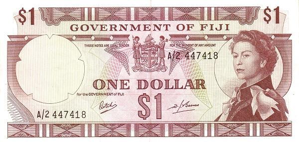 Fiji 1 Dollar (1969 Government of Fiji)