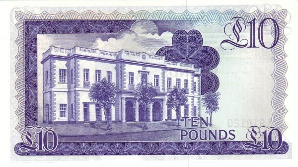 Gibraltar 10 Pounds (1975-1988 Government of Gibraltar)