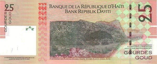 Haiti 25 Gourdes