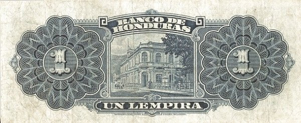 Honduras 1 Lempira (1932 Banco de Honduras)