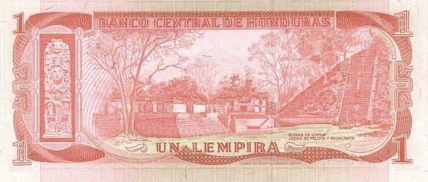 Honduras 1 Lempira (1973-1978 Banco Central de Honduras)
