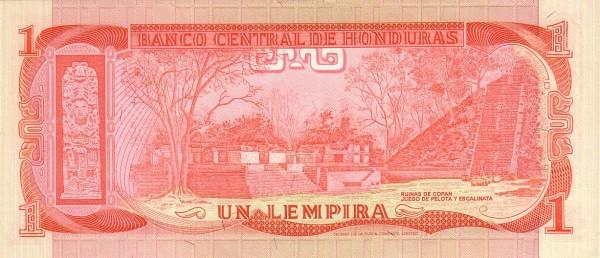 Honduras 1 Lempira (1975-1994 Banco Central de Honduras)