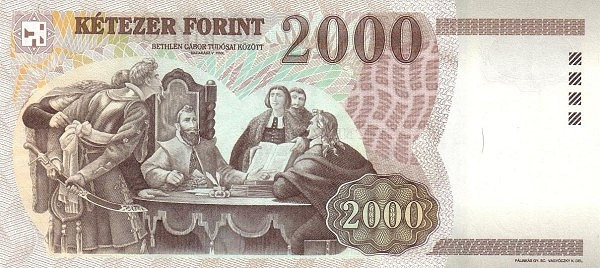 Hungary 2000 Forint (1997-1999)