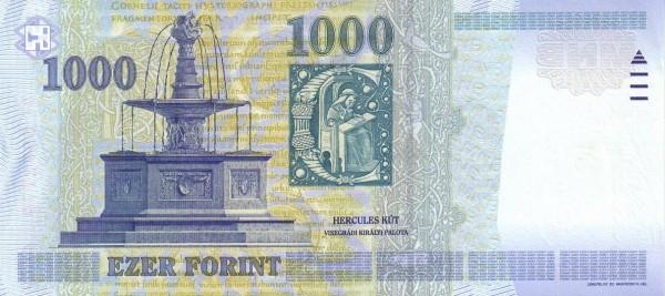 "Hungary 1000 Forint (2000 Millennium"")"""