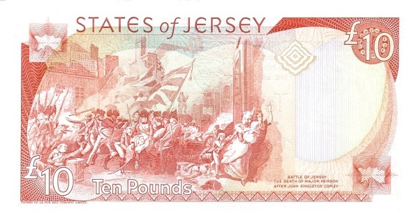 Jersey 10 Pounds (2000 Treasury of the States of Jersey)