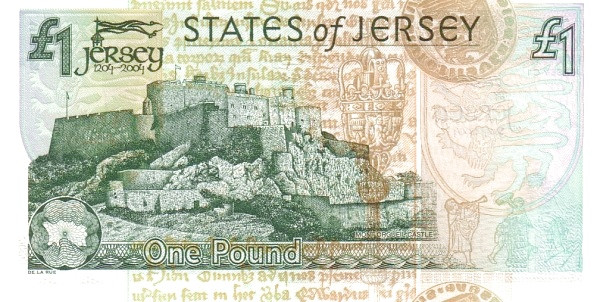 "Jersey 1 Pound (2004 800 Years Jersey"" Treasury of the States of Jersey)"""
