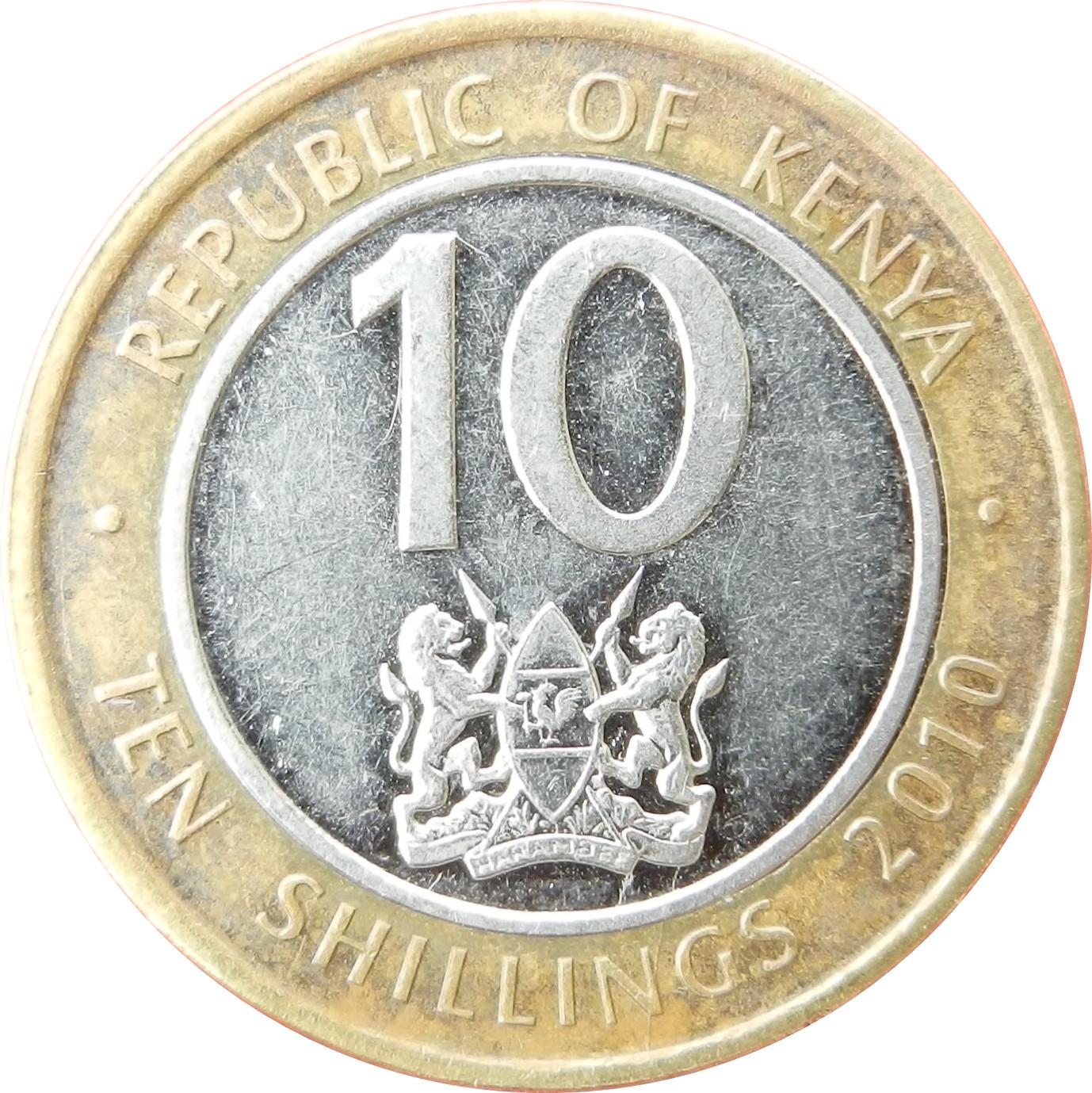 Kenya 10 shillings
