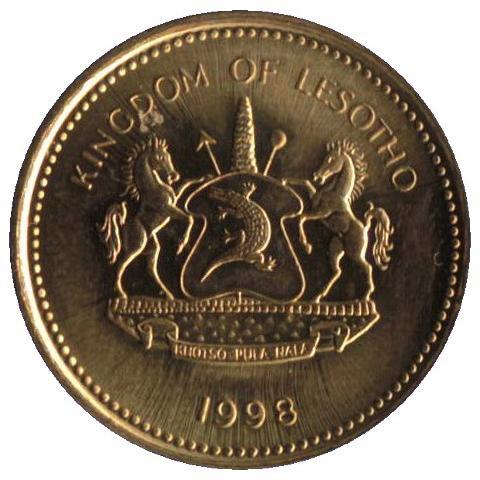 Lesotho 50 lisente