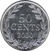 Liberia 50 cents