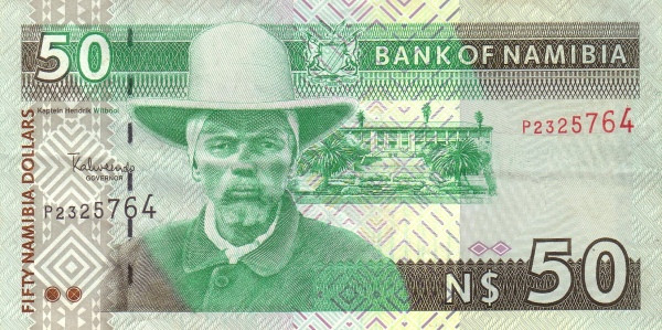 Namibia 50 Dollars (Bank of Namibia)