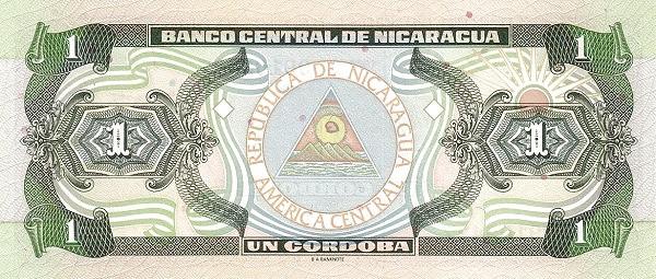 Nicaragua 1 Córdoba(1992-1996 )