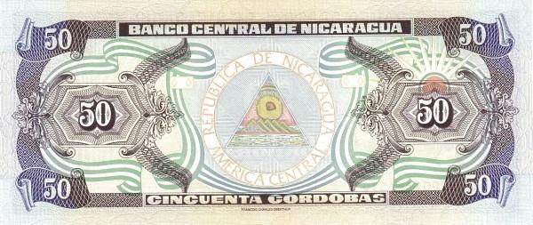 Nicaragua 50 Córdobas(1992-1996 )