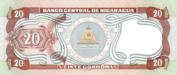Nicaragua 20 Córdobas(1997)
