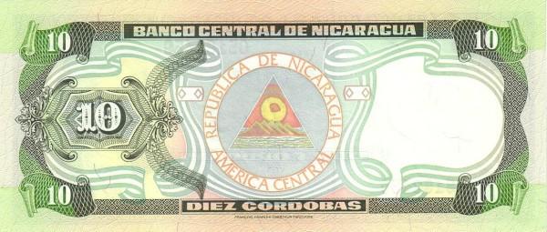 Nicaragua 10 Córdobas (1999)