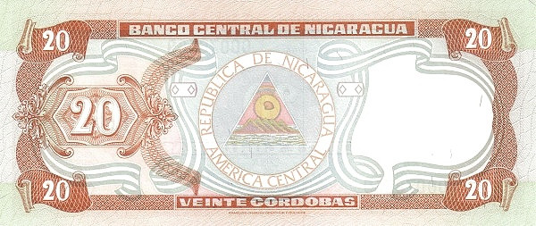 Nicaragua 20 Córdobas(1999)