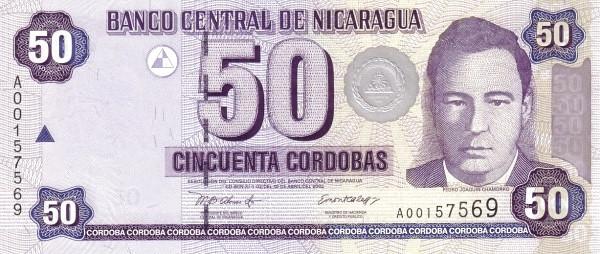 Nicaragua 50 Córdobas(2002 )
