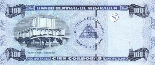 Nicaragua 100 Córdobas(2002)