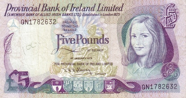 Northern Ireland 5 Pound (1977-1981)
