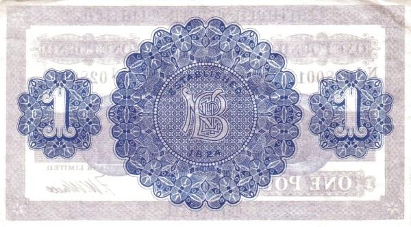 Northern Ireland 1 Pound (1929-1968)
