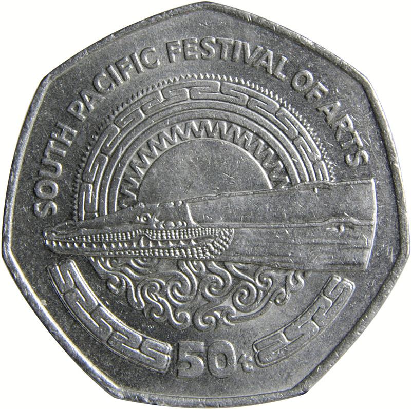 Papua New Guinea50 toea