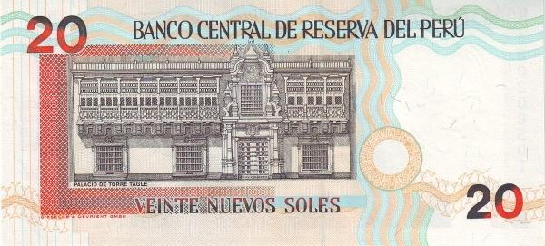 Peru 20 Nuevos Soles