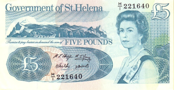 Saint Helena 5 Pounds